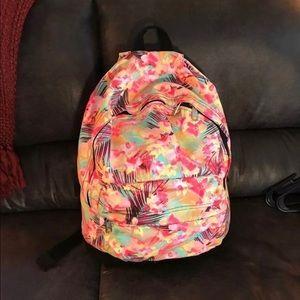 Victoria's Secret Pink Backpack Tropical Neon